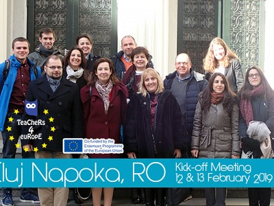 Kick-off Meeting, Cluj Napoka Romania