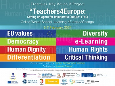"Online Winter School ""Learning4Europe 2Change"""